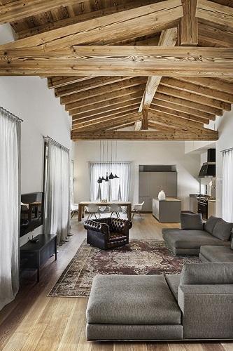 Costruire il tetto ideale le tipologie e i materiali che for Casa moderna con tetto in legno