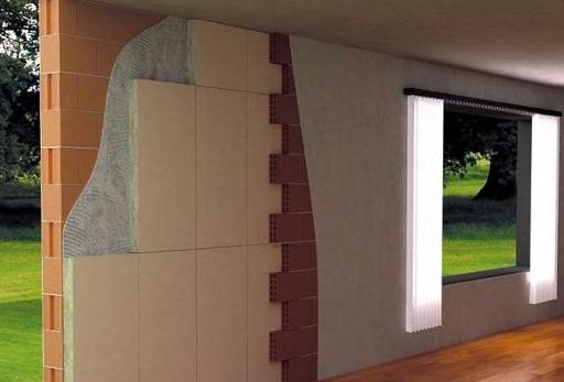 Isolamento termico interno edilizia