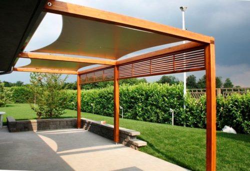 I prezzi delle tettoie in legno per la tua casa for Progettazione esterni