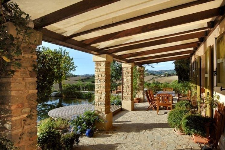 I prezzi delle tettoie in legno per la tua casa for Come costruire la tua casa