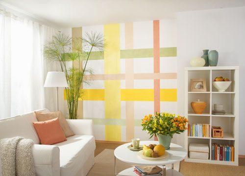 Come procedere alla pittura delle pareti di casa for Idee pittura casa